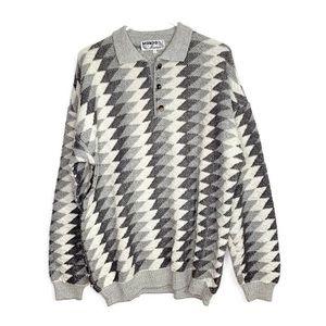 Vintage Men's Mondo Di Marco Sweater Size XL